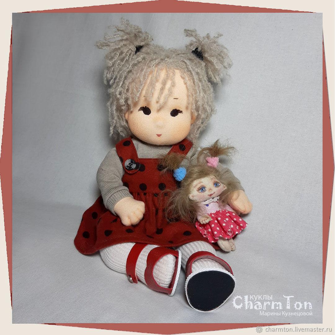 Вальдорфская игровая кукла Сонечка, Вальдорфские куклы и звери, Клин,  Фото №1
