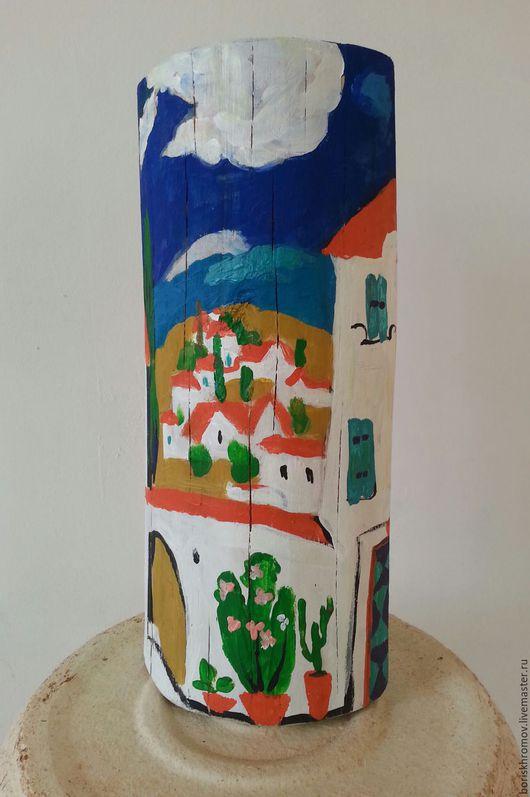 Город ручной работы. Ярмарка Мастеров - ручная работа. Купить Испания. Handmade. Тёмно-синий, Испания, путешествие, дерево