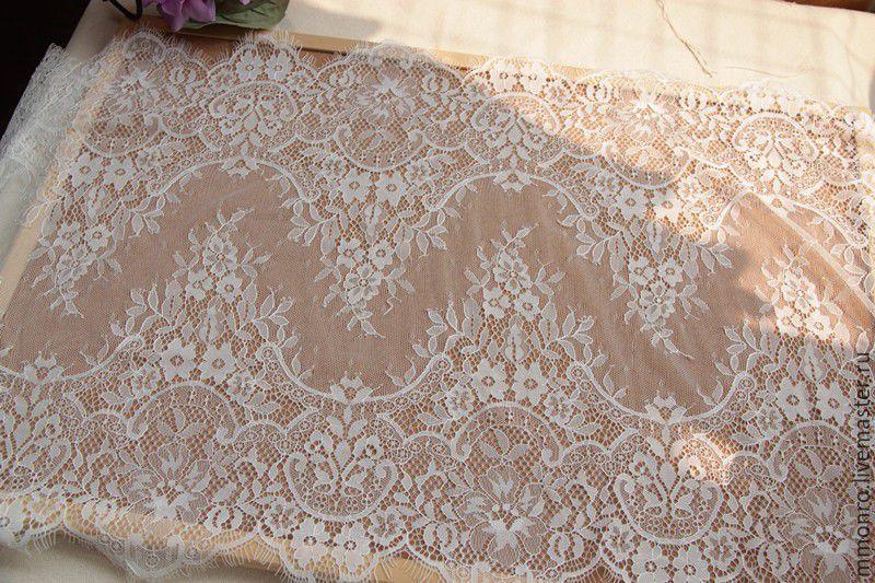Купить кружевные ткани для свадебного