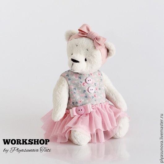 Мишки Тедди ручной работы. Ярмарка Мастеров - ручная работа. Купить Мишка Тедди Балерина Майя - Мягкая игрушка. Handmade.