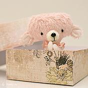 Куклы и игрушки ручной работы. Ярмарка Мастеров - ручная работа Миниатюрный тедди-мишка. Handmade.