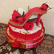 Сувениры и подарки handmade. Livemaster - original item Red Shoe. Handmade.