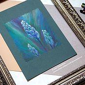 Картины и панно ручной работы. Ярмарка Мастеров - ручная работа Пастель картина Сияние первоцвета. Картины цветов. Картина пастелью. Handmade.