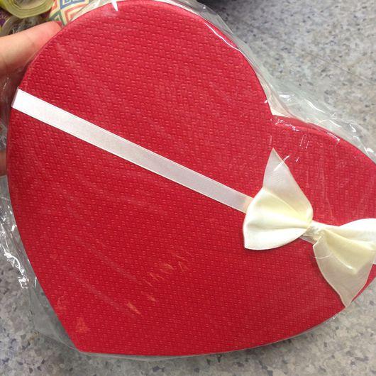 Упаковка ручной работы. Ярмарка Мастеров - ручная работа. Купить Коробки подарочные форма сердце. Handmade. Короб для хранения, коробочка