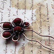 Украшения handmade. Livemaster - original item hairpin with jasper. Handmade.