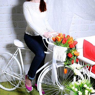 Дизайн и реклама ручной работы. Ярмарка Мастеров - ручная работа Велосипед ретро для фотосессии. Handmade.