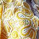 Вязаное ажурное болеро