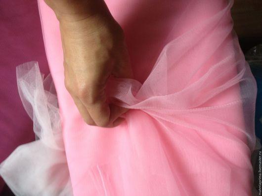 """Шитье ручной работы. Ярмарка Мастеров - ручная работа. Купить Фатин мягкий """"Розовый"""". Handmade. Фатин розовый, фатин мягкий"""