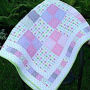 """Одеяла ручной работы. Ярмарка Мастеров - ручная работа Лоскутное одеяло """"Мильфей"""". Handmade."""