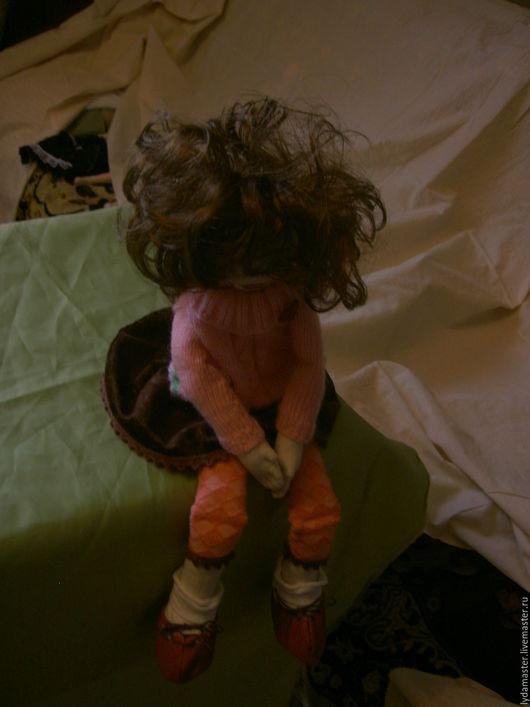 """Куклы тыквоголовки ручной работы. Ярмарка Мастеров - ручная работа. Купить Кукла """"Я обиделась!"""". Handmade. Кукла ручной работы"""
