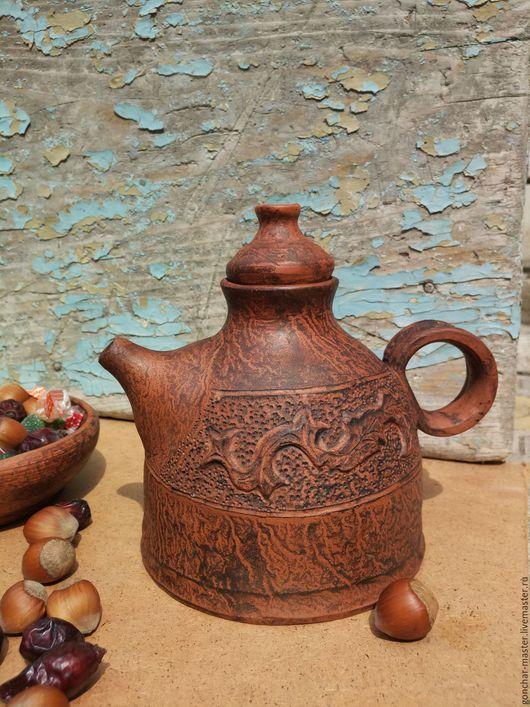 Чайники, кофейники ручной работы. Ярмарка Мастеров - ручная работа. Купить Заварочник глиняный (чайник заварочный). Handmade. посуда из керамики