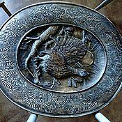 Для дома и интерьера ручной работы. Ярмарка Мастеров - ручная работа Тарелка картина Глухарь. Handmade.