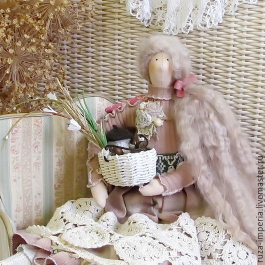 Куклы Тильды ручной работы. Ярмарка Мастеров - ручная работа. Купить Аглая Гостеприимная интерьерная кукла. Handmade. Кукла Тильда