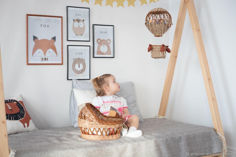 Люлька и воздушный шар. Набор для девочки, Игрушки, Томск,  Фото №1