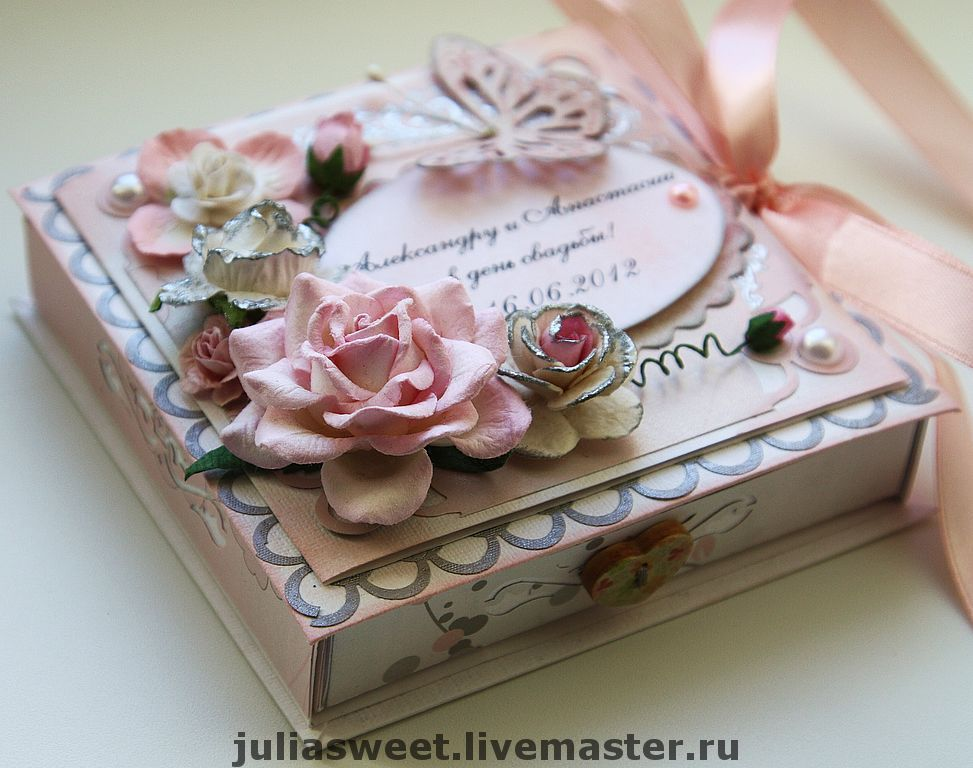 Коробочку для открытки