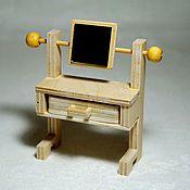 handmade. Livemaster - original item Copy of A set of furniture for dolls house or roombox (miniature). Handmade.