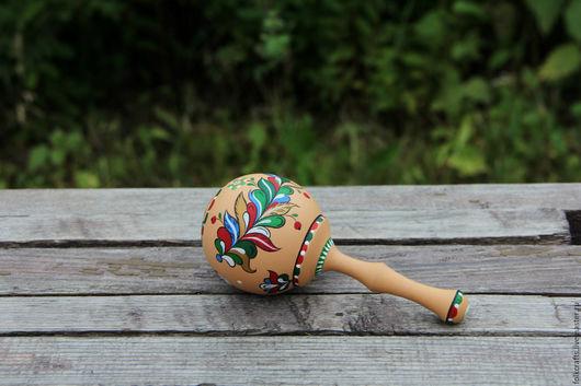 Сувениры ручной работы. Ярмарка Мастеров - ручная работа. Купить Погремушка. Handmade. Комбинированный, лялька, Традиции, акриловый лак