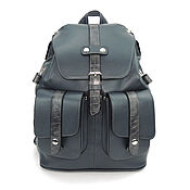 Сумки и аксессуары handmade. Livemaster - original item Backpack leather grey women`s arcade. Handmade.