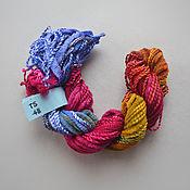 Материалы для творчества handmade. Livemaster - original item Mix of 5 different threads for embroidery (№48). Handmade.