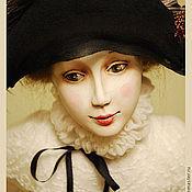 """Куклы и игрушки ручной работы. Ярмарка Мастеров - ручная работа Фарфоровая кукла """"Коломбина"""". Handmade."""