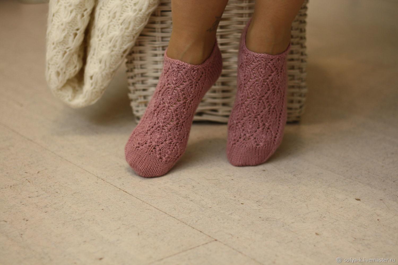 Tracery wool short socks 'Shabby', Socks, Moscow,  Фото №1