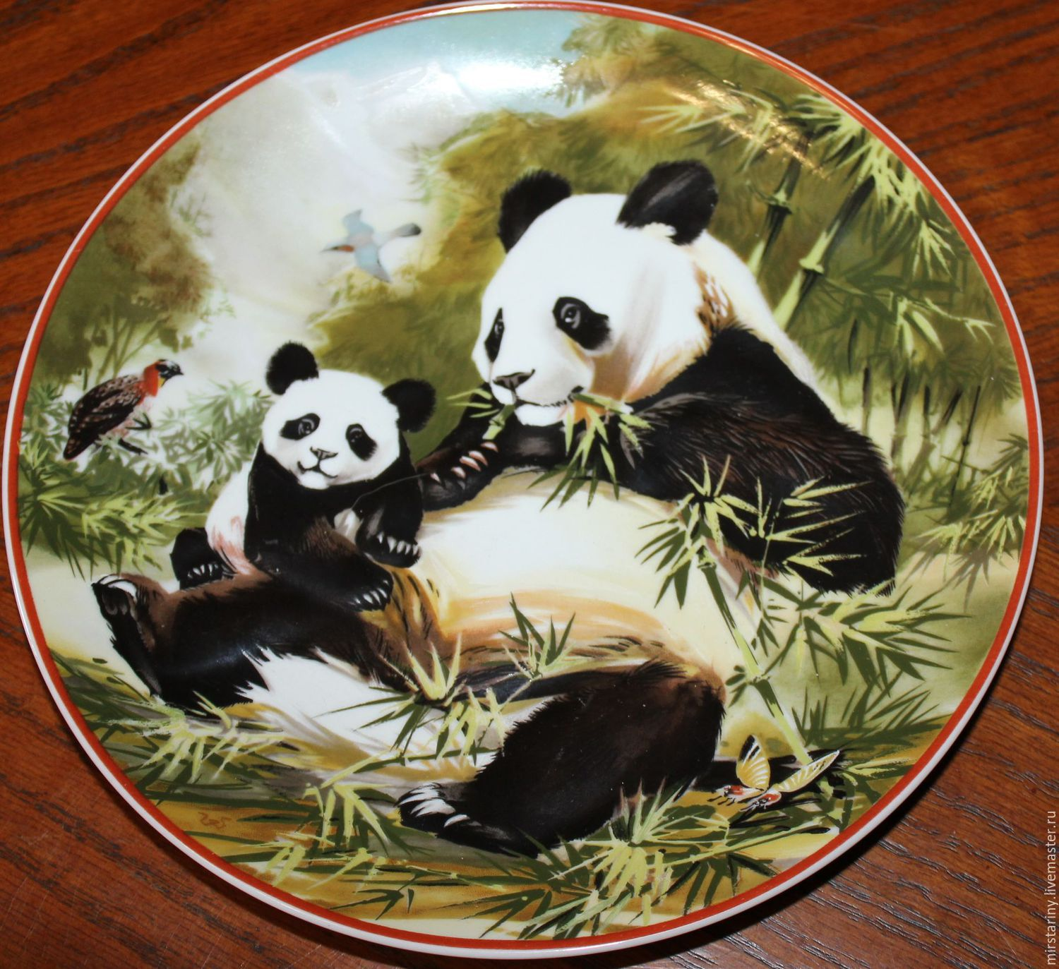 Collectible plates, Villeroy & Boch, WWF, Germany, Vintage interior, Moscow,  Фото №1