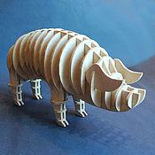 Для дома и интерьера handmade. Livemaster - original item Pig. Handmade.