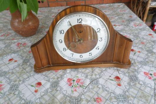 Винтажные предметы интерьера. Ярмарка Мастеров - ручная работа. Купить Часы кабинетные. Handmade. Коричневый, винтаж, комбинированный