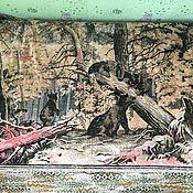 Винтаж ручной работы. Ярмарка Мастеров - ручная работа Плюшевый ковер СССР. Handmade.