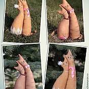 Куклы и игрушки ручной работы. Ярмарка Мастеров - ручная работа Влюблённые коты. Handmade.