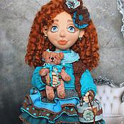 Куклы и игрушки ручной работы. Ярмарка Мастеров - ручная работа Куколка текстильная Викки. Handmade.