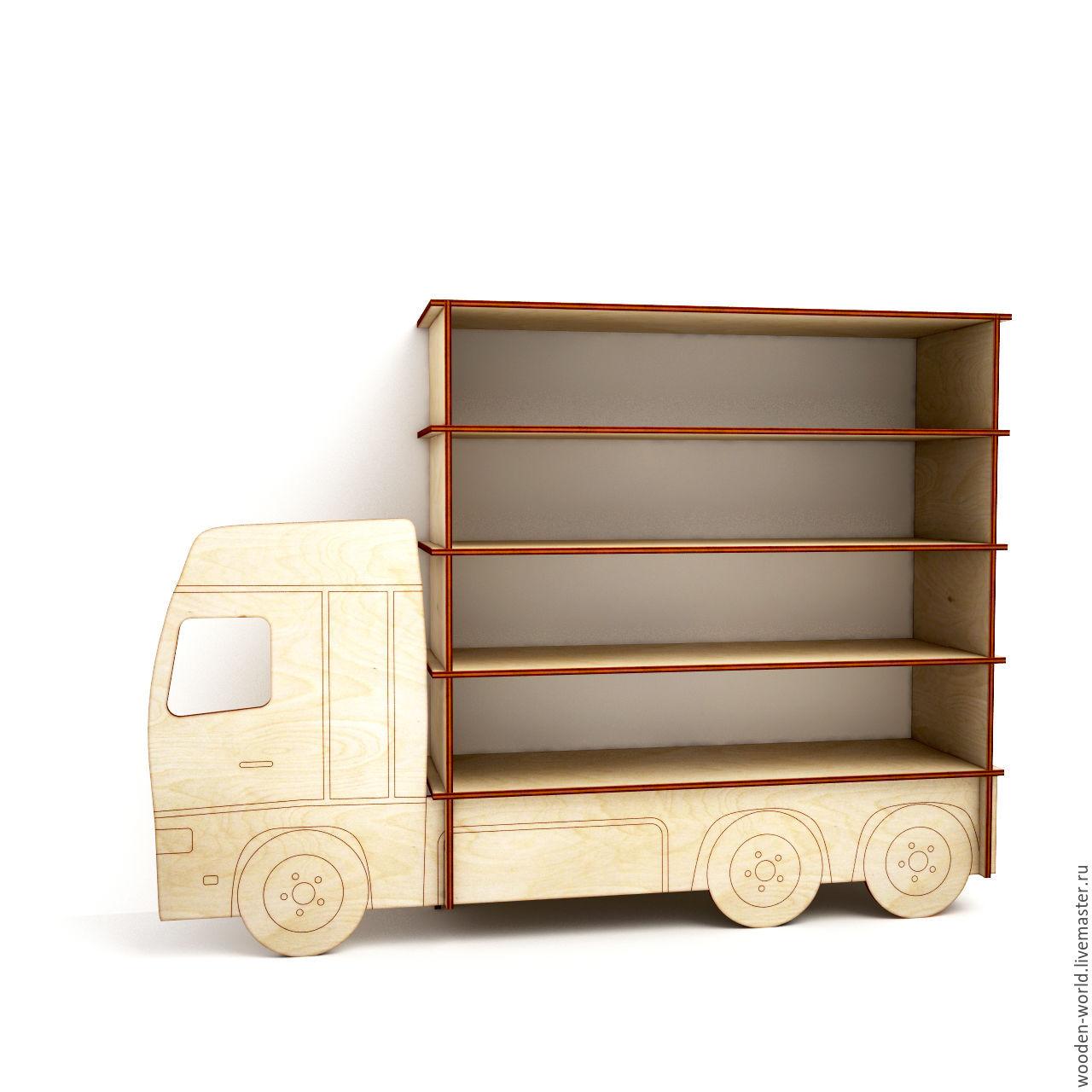 Полка-грузовик, Заготовки для декупажа и росписи, Пермь, Фото №1