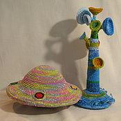 Куклы и игрушки ручной работы. Ярмарка Мастеров - ручная работа Летающая тарелка. Handmade.