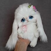 Куклы и игрушки ручной работы. Ярмарка Мастеров - ручная работа зайка Амели. Handmade.