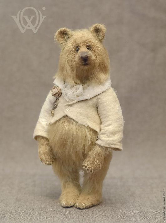Мишки Тедди ручной работы. Ярмарка Мастеров - ручная работа. Купить Флосси (Flossy) мишка Тедди. Handmade. Золотой, фрак