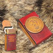 Сумки и аксессуары handmade. Livemaster - original item Cigarette case. sigaretta. USSR. Handmade.