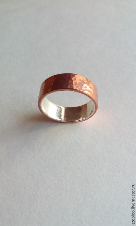 Кольца ручной работы. Ярмарка Мастеров - ручная работа. Купить Медное кольцо. Handmade. Кольцо ручной работы, кованые изделия