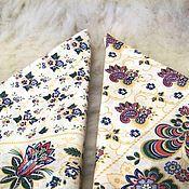 Русский стиль handmade. Livemaster - original item Girl`s handkerchief dairy. Handmade.
