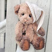 Мягкие игрушки ручной работы. Ярмарка Мастеров - ручная работа Медведь Слипи (20см). Handmade.