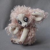 Куклы и игрушки ручной работы. Ярмарка Мастеров - ручная работа Овечка которую зовут Звёздочка.. Handmade.