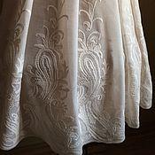 Одежда ручной работы. Ярмарка Мастеров - ручная работа Платье 2115 Белое бохо 3. Handmade.
