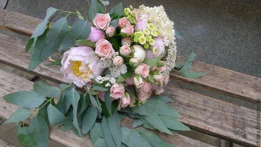 Свадебные цветы ручной работы. Ярмарка Мастеров - ручная работа. Купить Букет невесты. Handmade. Букет невесты, букет цветов