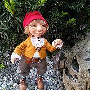Куклы и игрушки ручной работы. Ярмарка Мастеров - ручная работа Интерьерная игрушка серии Гномики и эльфы. Handmade.
