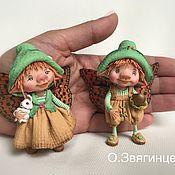 Куклы и игрушки ручной работы. Ярмарка Мастеров - ручная работа Люсия и Николос. Handmade.