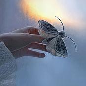"""Украшения ручной работы. Ярмарка Мастеров - ручная работа Брошь-бабочка """"Сон весны"""". Handmade."""