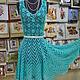"""Платья ручной работы. Ярмарка Мастеров - ручная работа. Купить Летнее платье """" Нежный цветок - 2"""". Handmade."""