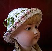 Куклы и игрушки ручной работы. Ярмарка Мастеров - ручная работа Вязаная шляпка для куклы №1. Handmade.