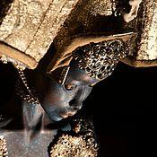 Куклы и игрушки ручной работы. Ярмарка Мастеров - ручная работа Аиша_Синяя Обезьяна. Колекционная кукла. Handmade.