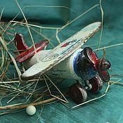 Подарки к праздникам handmade. Livemaster - original item Santa Claus mail airplane (wood). Handmade.