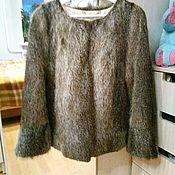 Одежда ручной работы. Ярмарка Мастеров - ручная работа Шубка жакет из нутрии. Handmade.